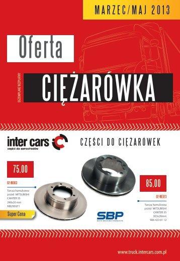 Oferta CIĘŻARÓWKA - marzec/maj 2013 (pdf) - Inter Cars SA