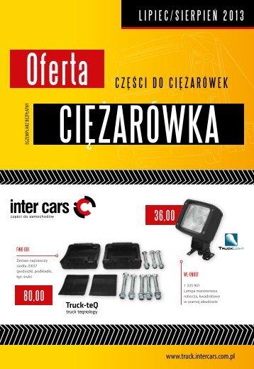 Oferta CIĘŻARÓWKA - lipiec/sierpień 2013 (pdf) - Inter Cars SA