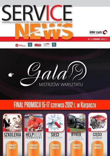 SERVICE NEWS nr16/czerwiec 2012 - Inter Cars SA