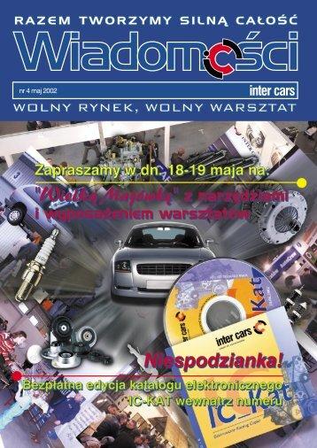 Wiadomości 4/2002 - Inter Cars SA