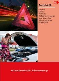Niezbędnik kierowcy Rozdział III. - Inter Cars SA