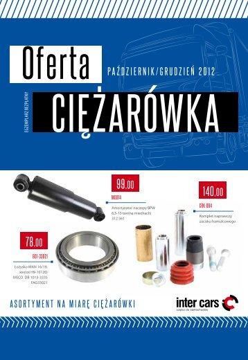 Oferta Ciężarówka – październik - grudzień 2012 (pdf) - Inter Cars SA