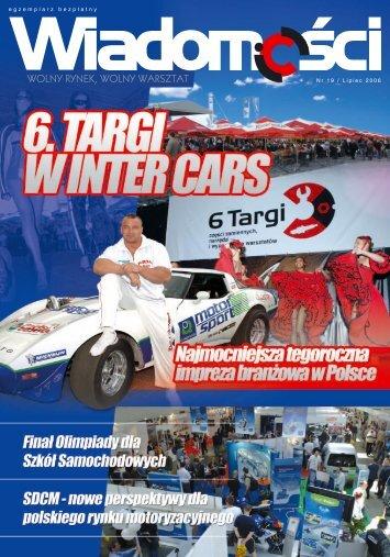 Wiadomości 19/2006 - Inter Cars SA
