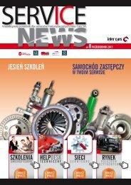 SERVICE NEWS nr8/pazdziernik 2011 - Inter Cars SA
