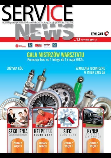 SERVICE NEWS nr12/luty 2012 - Inter Cars SA