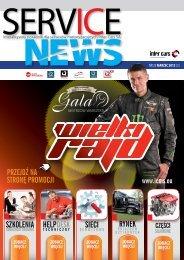 SERVICE NEWS nr 25/marzec 2013 - Inter Cars SA