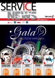 SERVICE NEWS nr13/marzec 2012 - Inter Cars SA