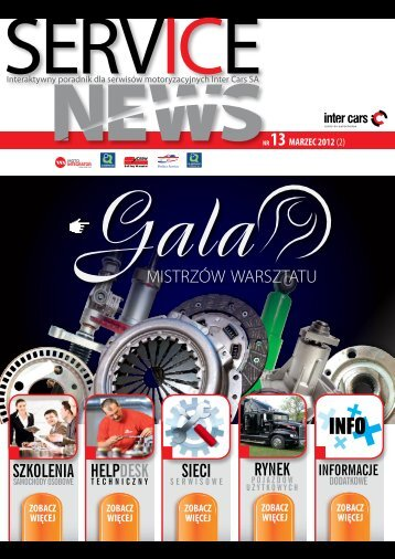 SERVICE NEWS nr13/marzec 2012 - Inter Cars SA