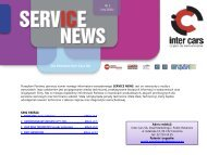 SERVICE NEWS nr1/luty 2011 - Inter Cars SA
