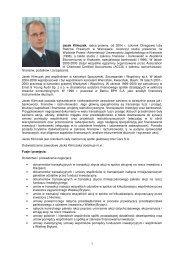 Raport bieżący nr 20 - załącznik - życiorys kandydata - Inter Cars SA