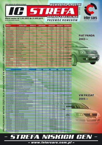 – www.intercars.com.pl – OFERTA SPECJALNA ... - Inter Cars SA