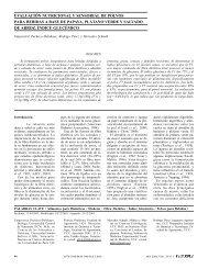 evaluación nutricional y sensorial de polvos para ... - Interciencia