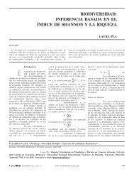 biodiversidad - Interciencia