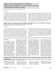 formulación y optimización de un producto ... - Interciencia