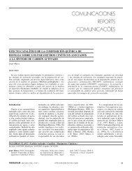 EFECTO CATALÍTICO DE LA COMPOSICIÓN ... - Interciencia