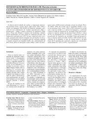 DETERMINAÇÃO BROMATOLÓGICA DE Pleurotus ... - Interciencia