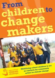 Kenya - From Children to Changemakers - Interclimate Network