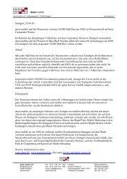 Pressemitteilung - deset und der Wasenwirt verlosen 10000Maß Bier