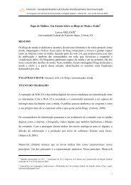 Papo de Mulher: Um Estudo Sobre os Blogs de Moda e ... - Intercom