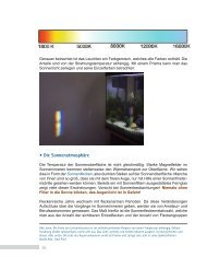 16 • Die Sonnenatmosphäre - Intercon Spacetec