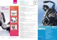Munich Elbow 2013 - Intercongress GmbH