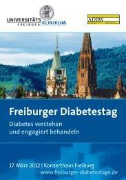 Freiburger Diabetestag - Intercongress GmbH