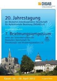 20. Jahrestagung - Intercongress GmbH