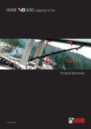 Product brochure 600 Capacity 57 tm - INTERCON Truck Equipment