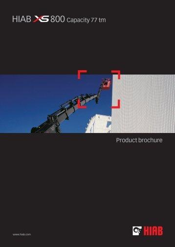Product brochure 800 Capacity 77 tm - INTERCON Truck Equipment