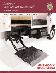 Anthony Side-Mount Tuckunder - INTERCON Truck Equipment