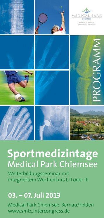 Sportmedizintage - Intercongress GmbH