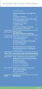 Sportmedizintage - Intercongress GmbH - Seite 7