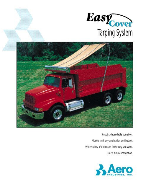 Monroe Truck Equipment >> Tarping System Monroe Truck Equipment
