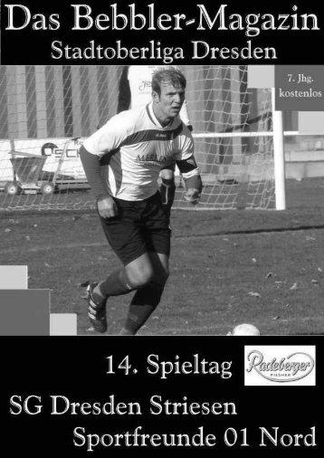 Das Bebbler-Magazin - 14. Spieltag