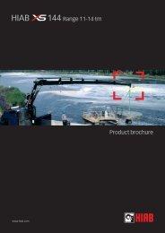 Product brochure 144 Range 11-14 tm - INTERCON Truck Equipment