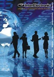 echipamente şi accesorii pentru industria electronică