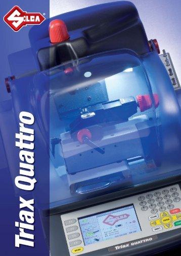 Duplicadora electronica llaves regata Triax Quattro - Interempresas