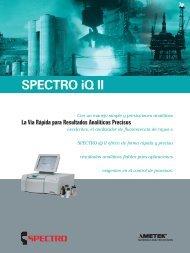 SPECTRO iQ II - Interempresas