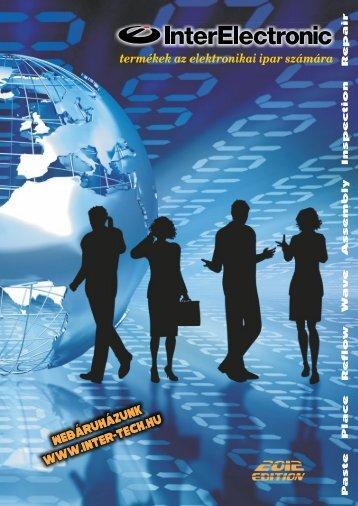 termékek az elektronikai ipar számára - InterElectronic Hungary
