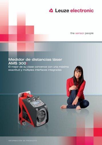 Medidor de distancias láser AMS 300i - Interempresas