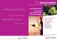 Gama de Manoproteínas La Littorale - Interempresas