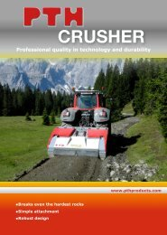 CRUSHER - PTH Products