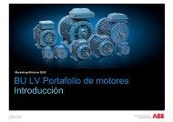 BU LV Portafolio de motores Introducción - Interempresas