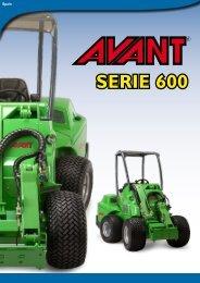 Catálogo Avant Serie 600 - Interempresas