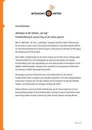 """antwerpes in der Schweiz """"am Zug"""" - DocCheck AG"""