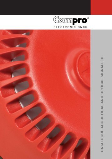 I buy Electronic_Señalizador acoustic and optical - Interempresas