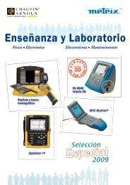 Catálogo de enseñanza y laboratorio - Interempresas