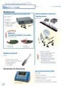Catálogo de enseñanza y laboratorio - Interempresas - Page 6