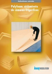 Polyfoam: aislamiento de cámaras frigoríficas - Knauf Insulation