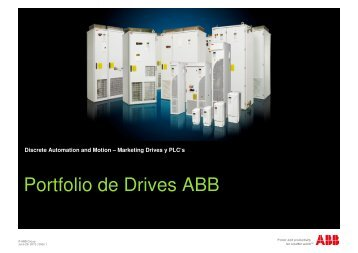 Portfolio de Drives ABB - Interempresas